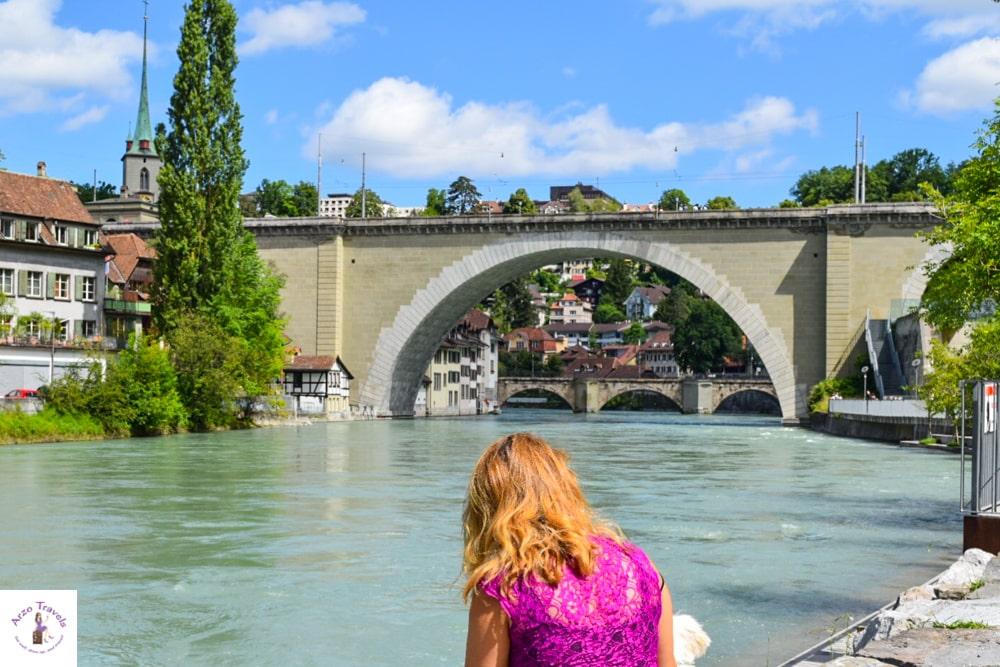 Bern Switzerland points of interest - Aare river