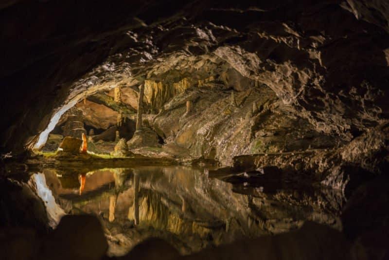 S. Beatus Cave in Interlaken @shutterstock Visit St. Beatus Caves Switzerland