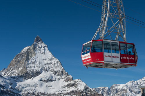 Matterhorn Cable Car @shutterstock