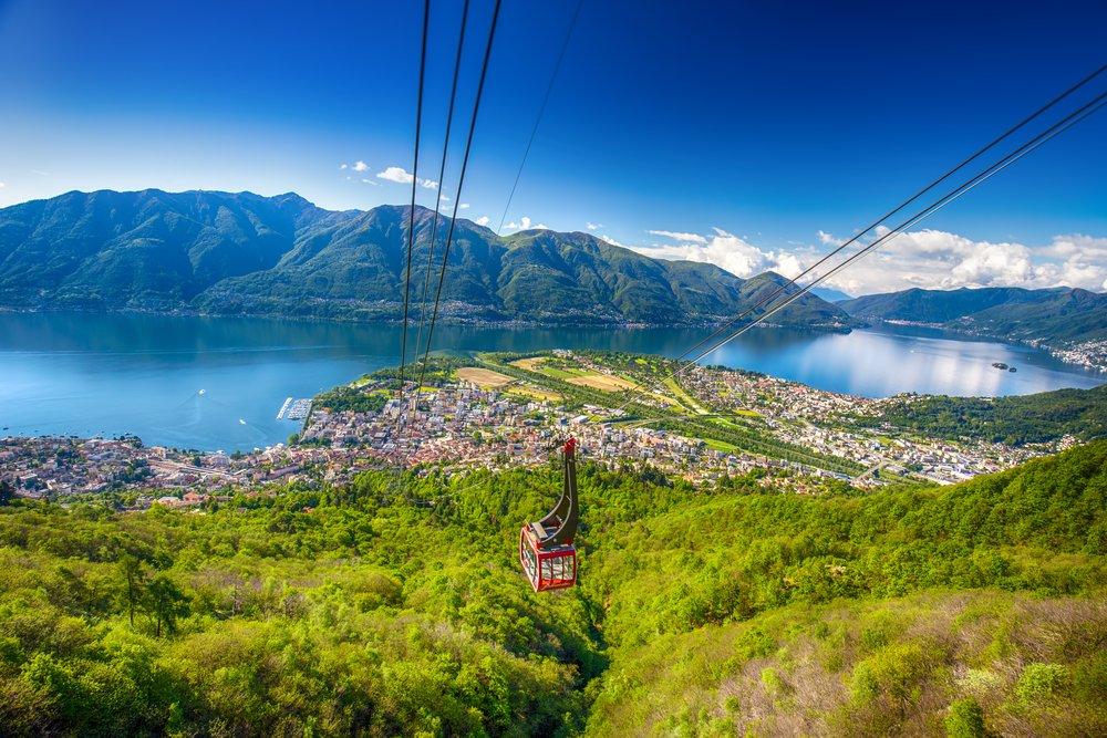 Cardada - View over Lago Maggiore @shutterstuck