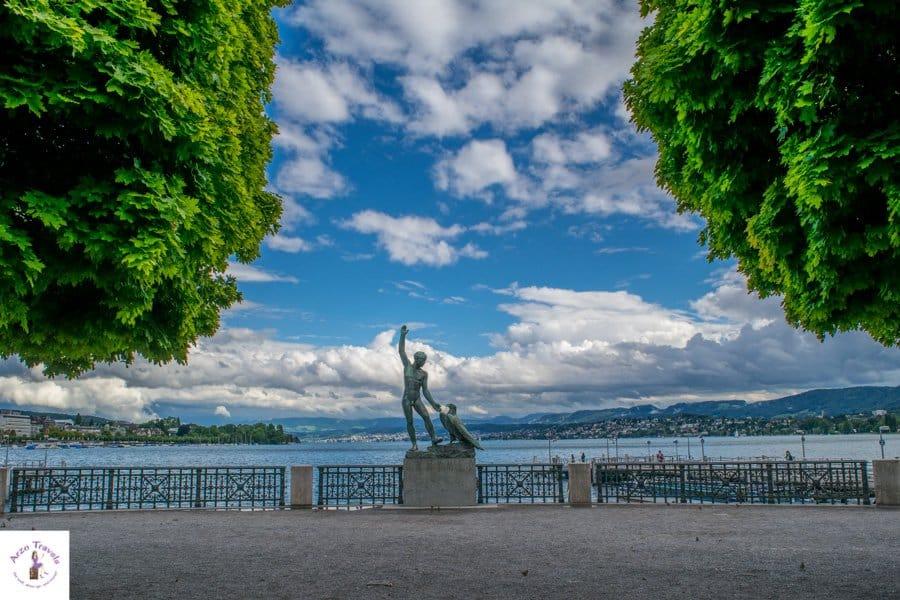 Bürkliplatz in Zurich, places to visit in Zurich Switzerland
