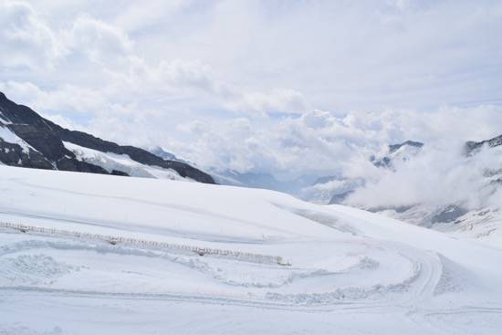 Snow Fun in Summer at Jungfraujoch