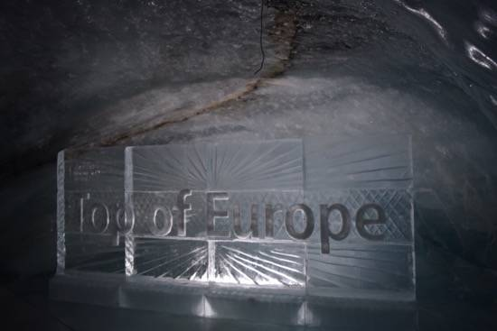 Ice Palace at Top of Europe