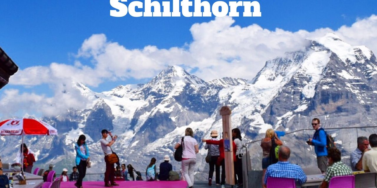 On the Trails of James Bond: Visiting Schilthorn