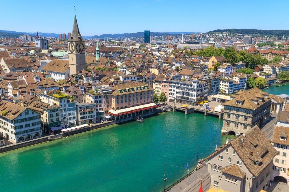 Zurich @shutterstock