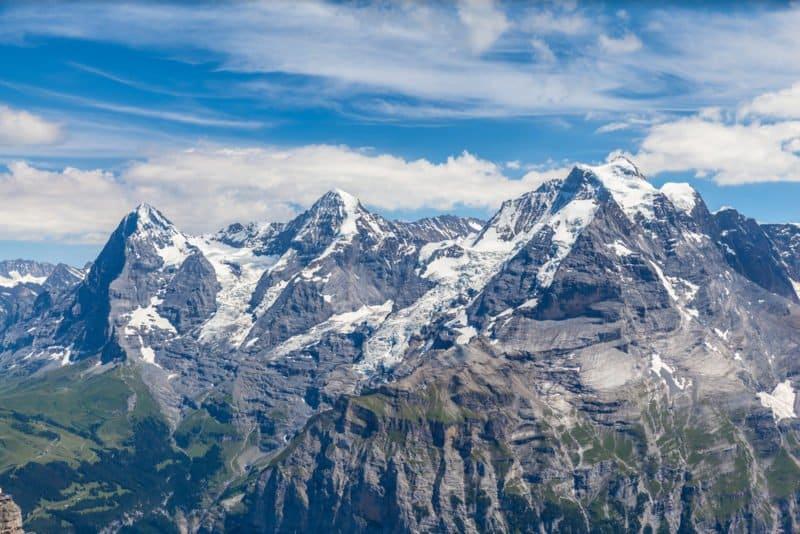 Swiss Skyline - Mönch, Eigner, Jungfrau