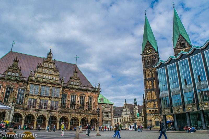 Arzo Travels Bremen Town Hall