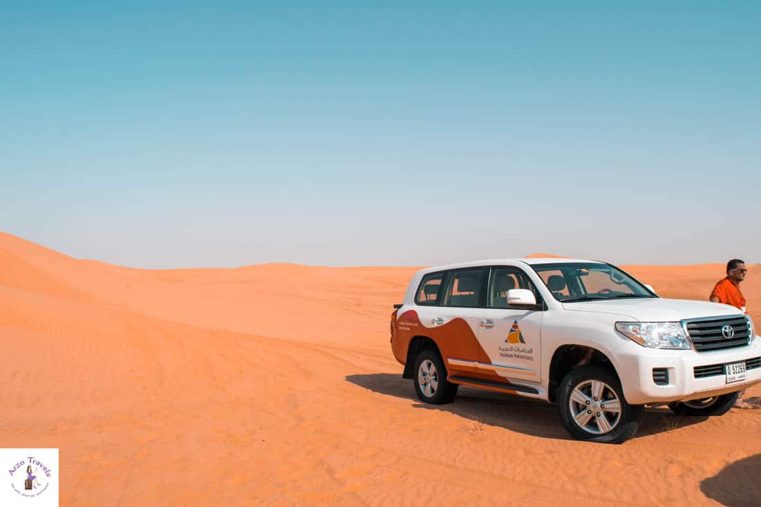 Dune Drive with Arabian Adventure