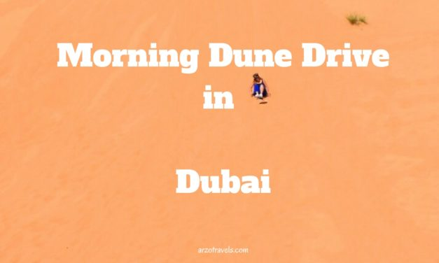 Adventures in the Morning: Morning Dune Drive in Dubai