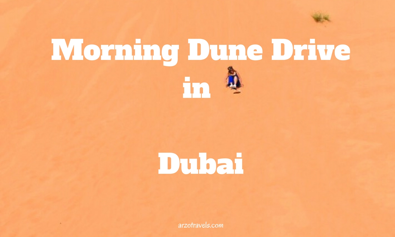Dune Drive in Dubai
