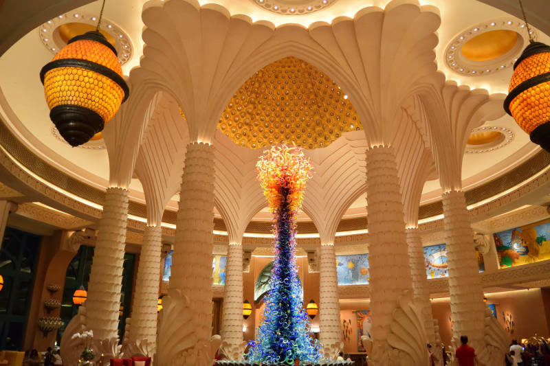 Lobby at Atlantis - The Palm Dubai
