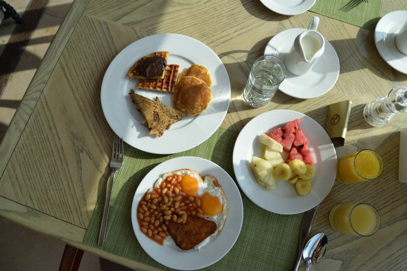 Breakfast at Millennium Corniche Abu Dhabi