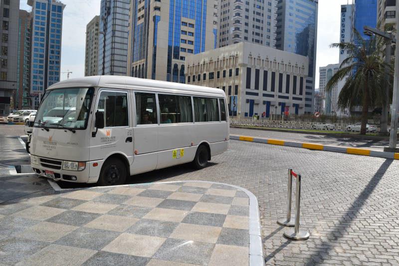 Shuttle Bus at Millennium Corniche Hotel Abu Dhabi