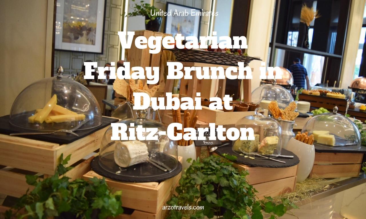 Friday Brunch at Ritz Carlton in Dubai