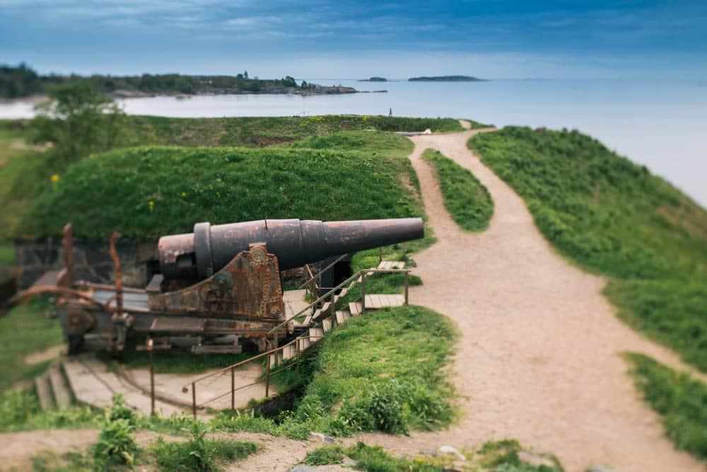 Suomenlinna Sea Fortress @shutterstock