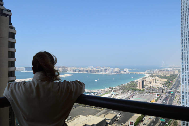 Room with a view - Grosvenor House in Dubai Marina