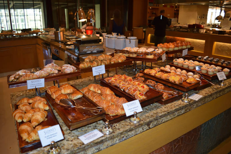 Pastry Breakfast at Sloane Grosvenor House in Dubai
