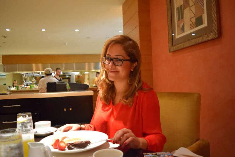 Breakfast at Sloane Grosvenor House in Dubai