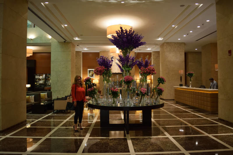 Lobby at Grosvenor House, Tower 1
