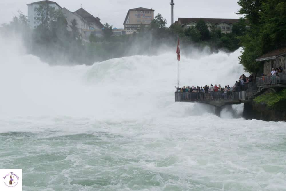 How to see the Rhine Falls in Switzerland