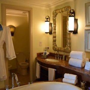 Bathroom at Atlantis - The Palm