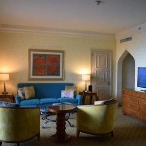 Terrace Club Suite at Atlantis - The Palm
