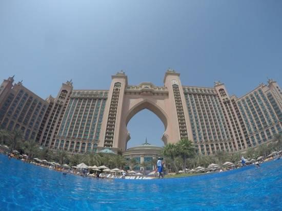 Pool View of Atlantis - The Palm Dubai