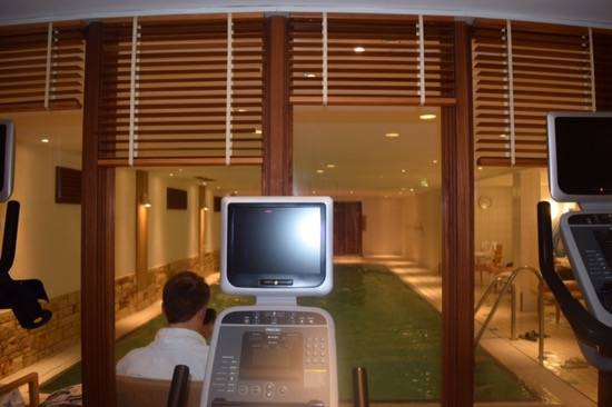 Fitness facilities at Radisson Blu