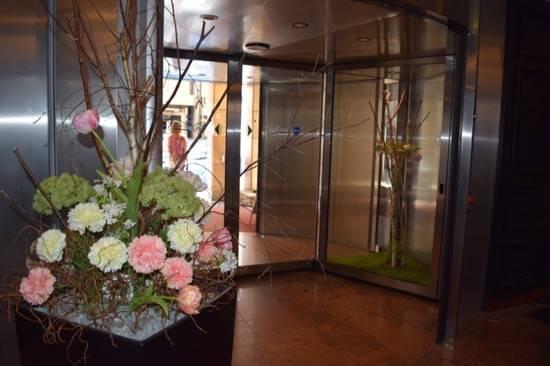 Lobby at Radisson Blu