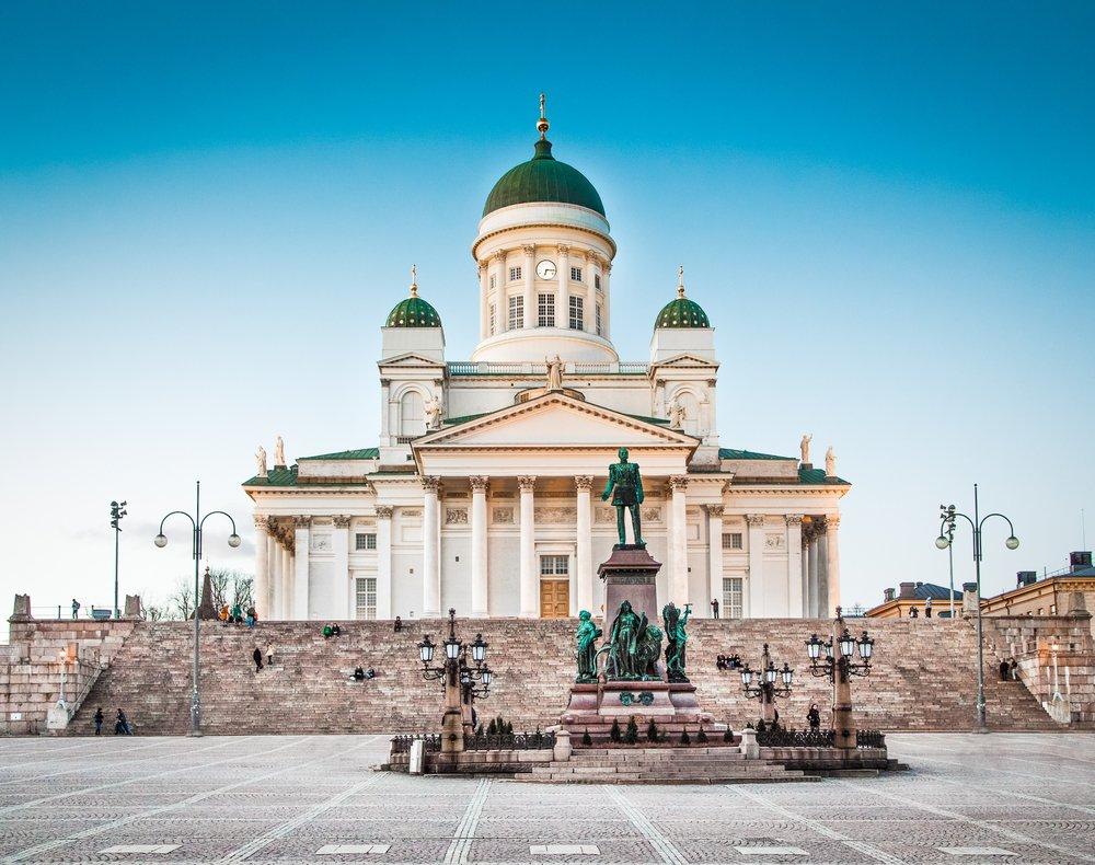 Helsinki Cathedral @shutterstock
