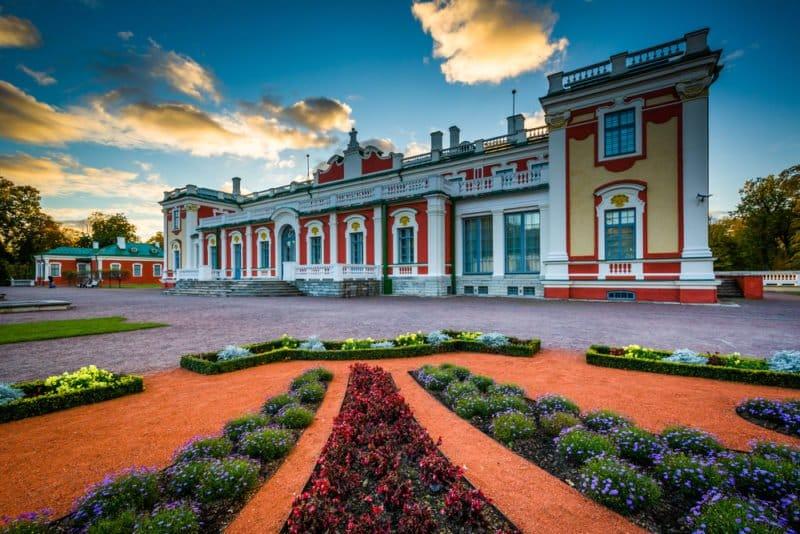 Kadriorg Palace in Tallinn @shutterstock