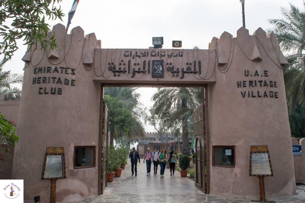 Abu Dhabi layover -Heritage Village Sehenswerte Orte, Heritage Village