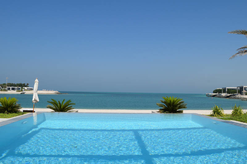 Private Pool at Zaya Nurai Island in Abu Dhabi