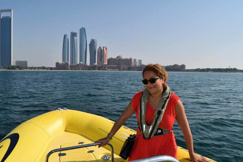 Yellow Speedboat Tour with Arabian Adventures