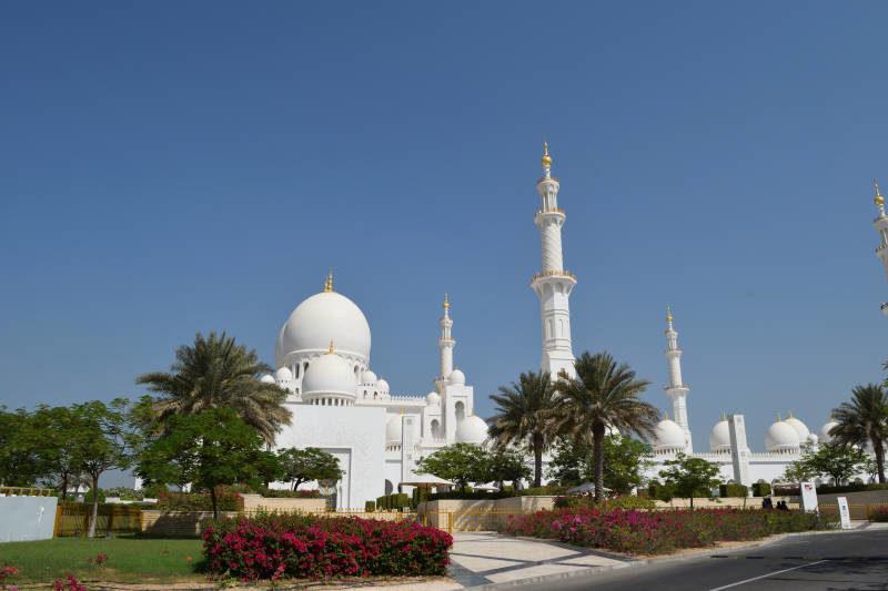 Sheikh Zayed Grand Mosque Abu Dhabi Emirates