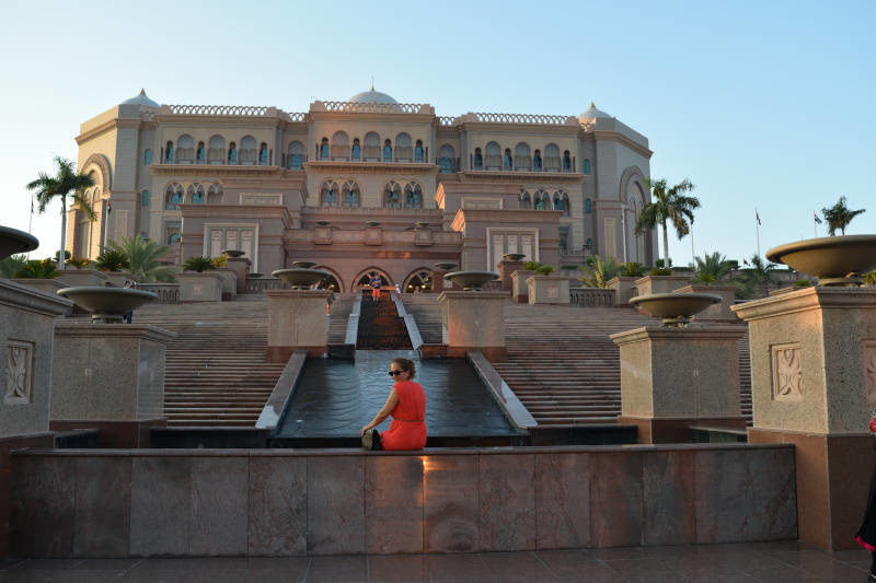 Emirates Palace Kempinski in Abu Dhabi (Emirates)