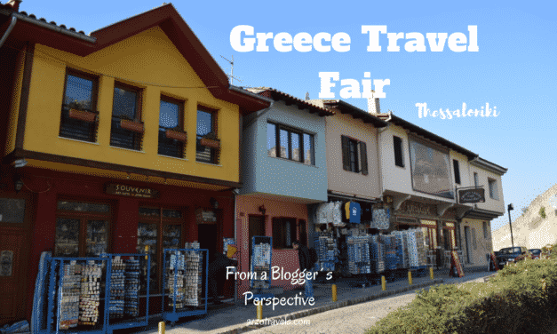 Visiting Travel Exhibition Philoxenia as a Travel Blogger