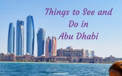 Things to Do in Abu Dhabi in 3 Days