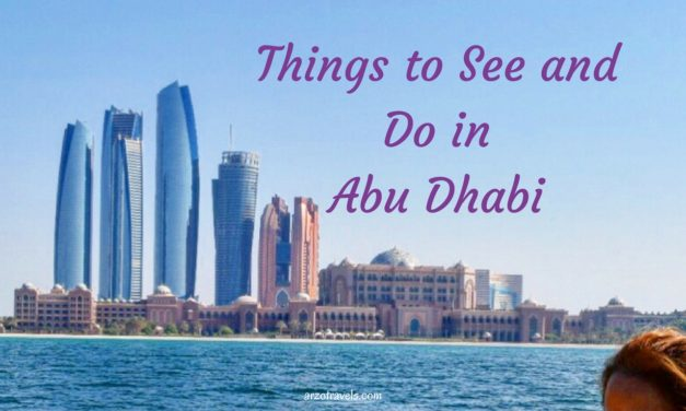Abu Dhabi Guide – Things to Do in Abu Dhabi in 3 Days