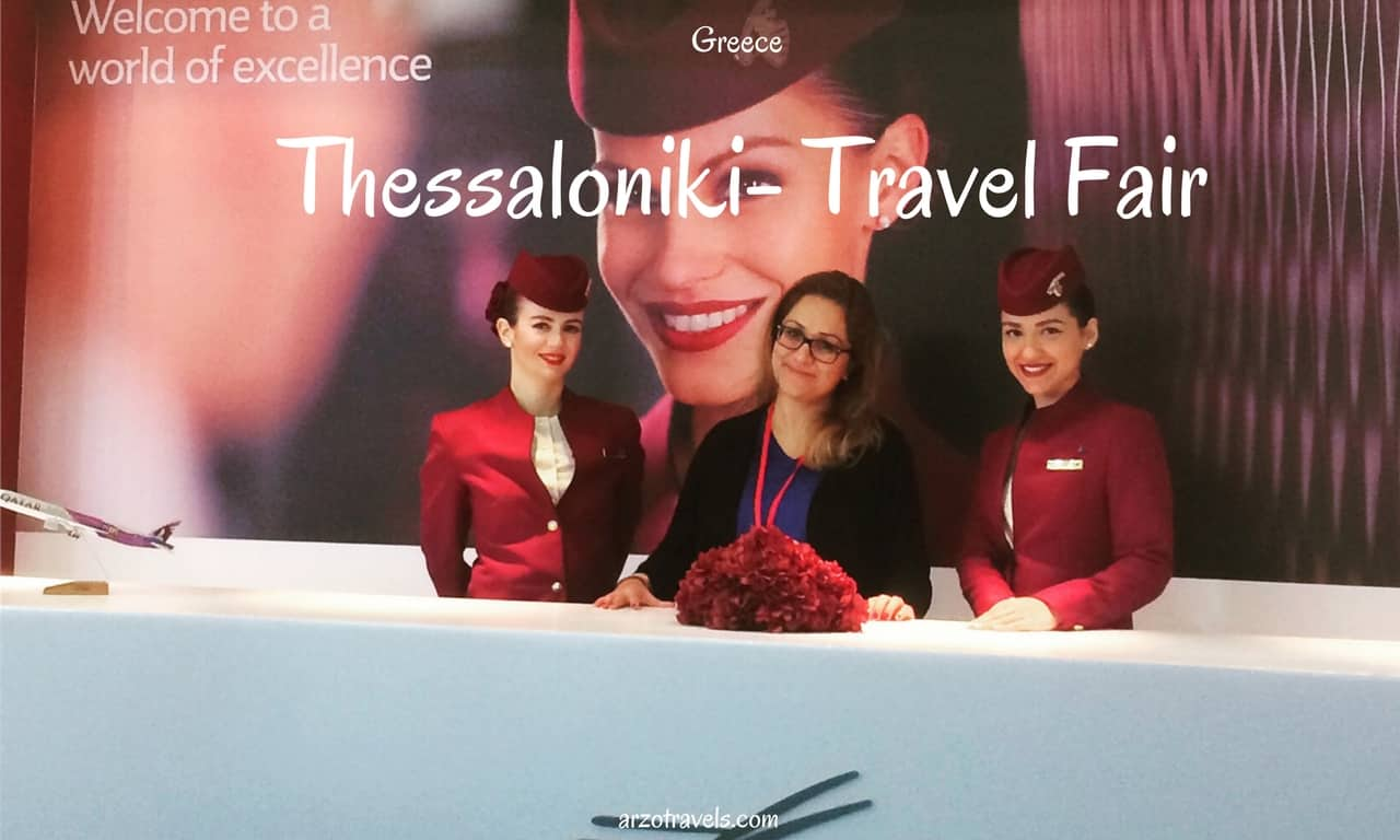 Travel Fair in Greece as travel blogger