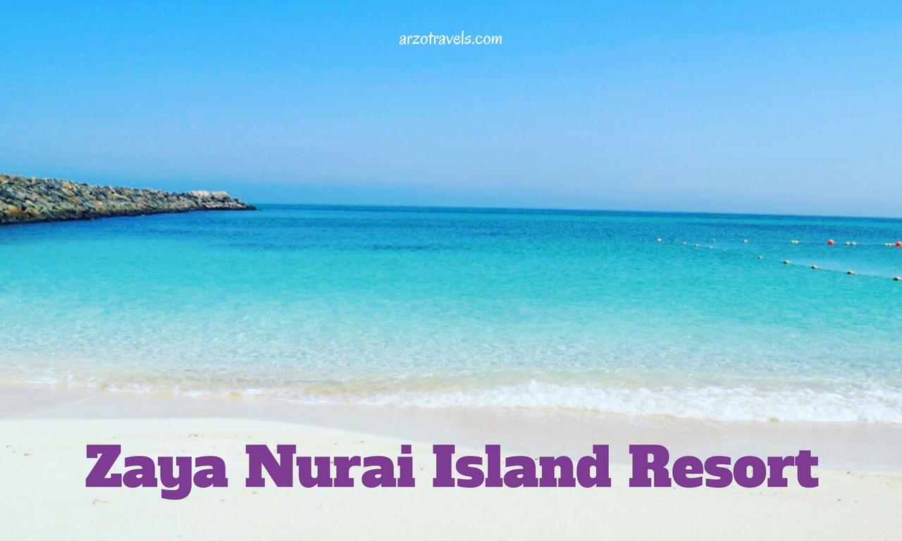 Zaya Nurai Island Resort in Abu Dhabi