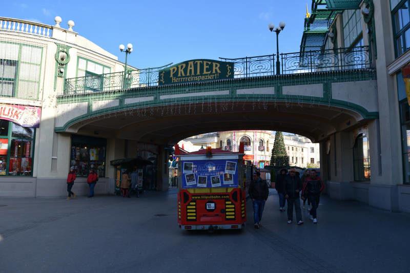 Prater in Vienna in Austria