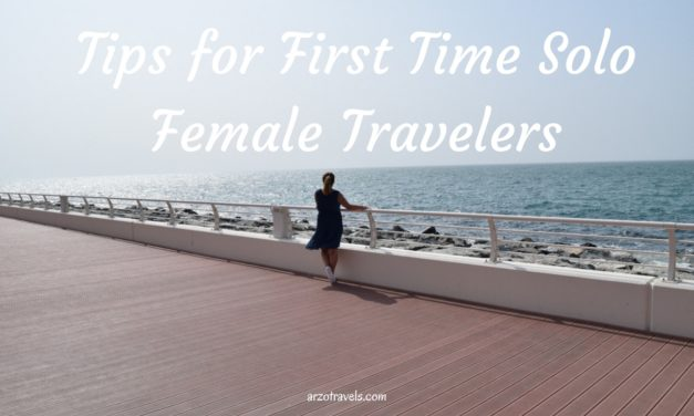 Tips for First Solo Trip (Solo Female Traveler)