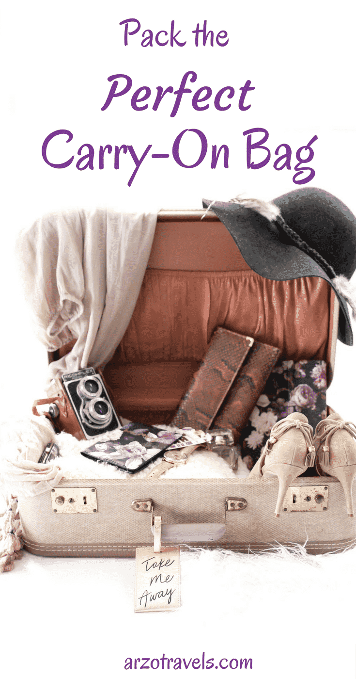How to pack the perfect carry-on bag. Travel