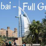 Dubai Guide: Dubai Travel Advisory