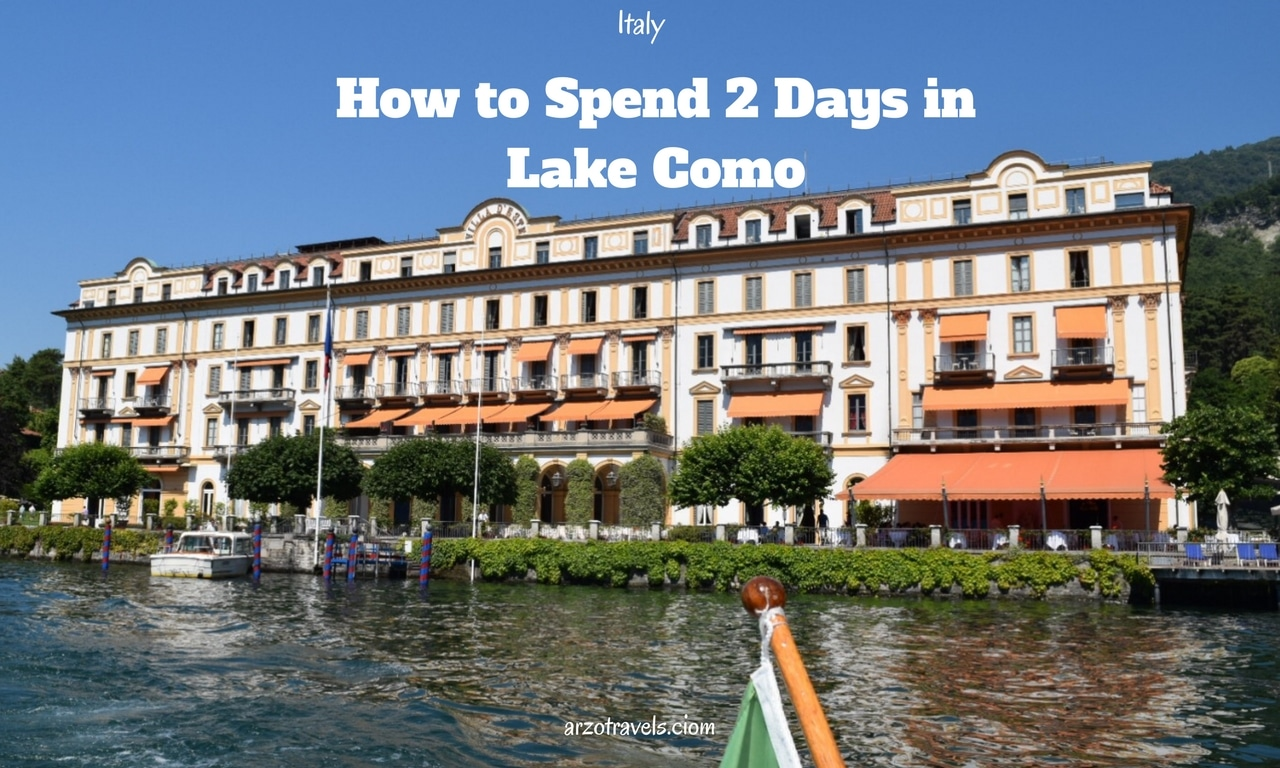 Best Things to do in 2 Days in Lake Como Itinerary