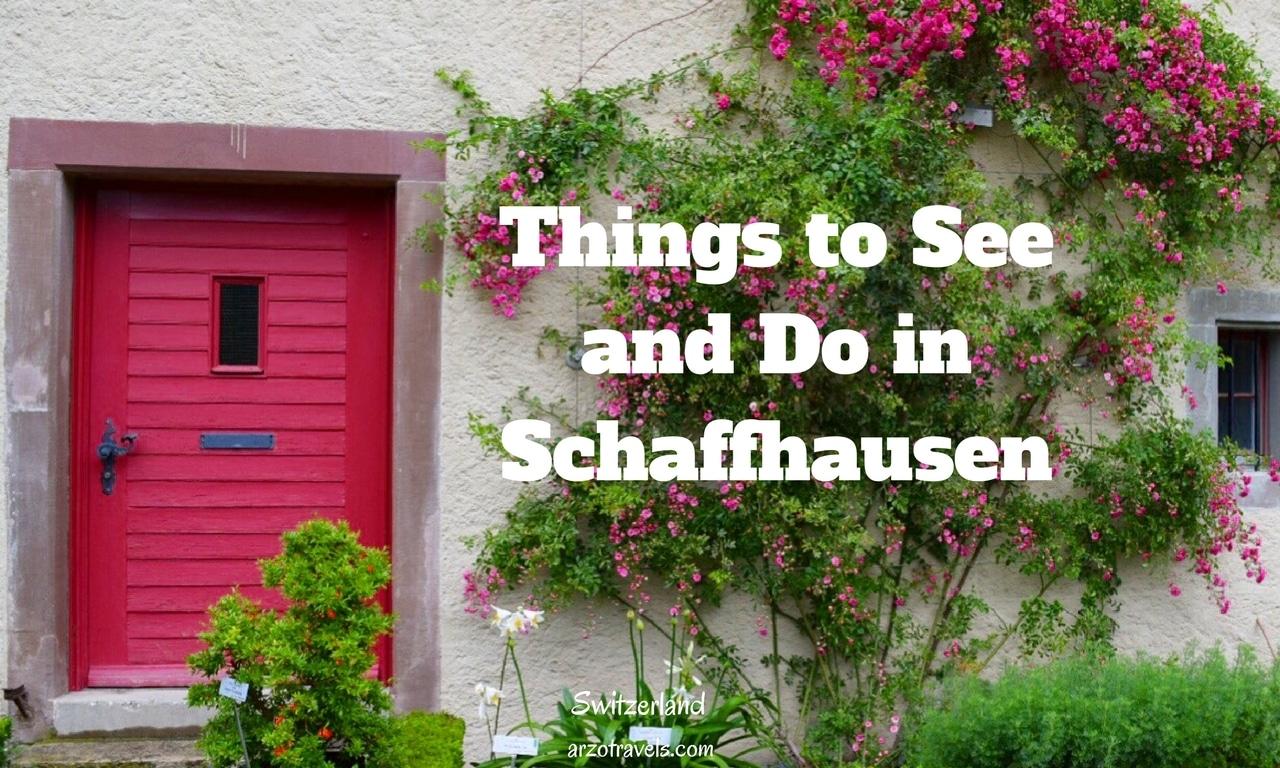 Schaffhausen in 1 day