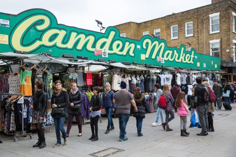 Camden Market @shutterstock