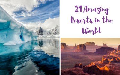 21 Best Deserts in the World