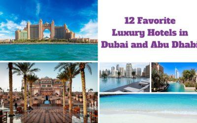 12 Favorite Luxury Hotels in Dubai and Abu Dhabi